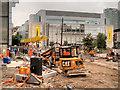 SJ8498 : Metrolink Second City Crossing Work, Corporation Street by David Dixon