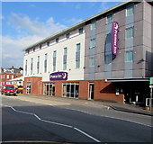 SX9193 : Premier Inn Exeter Central St Davids Hotel by Jaggery