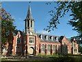SK7080 : King Edward VI Grammar School, main front by Alan Murray-Rust