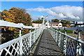 NX9775 : Suspension Bridge, Dumfries by Billy McCrorie