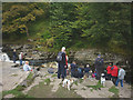 SD8167 : Waiting for a fish, Stainforth Force by Karl and Ali
