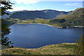 NY4712 : View across Haweswater to Riggindale and High Street by Nigel Brown