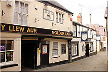 SJ0566 : The Golden Lion and The White Lion, Denbigh by Jeff Buck