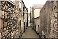 SJ0566 : Denbigh Alleyway by Jeff Buck