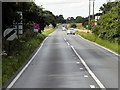 TL8680 : Northbound A134 (Bury Road) near to Barnham by David Dixon