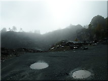 NY3204 : Robinson Quarry by James Wood