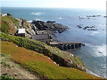 SW7011 : The old lifeboat station and slipway at the Lizard by David Smith