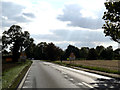 TM1160 : Entering The Stonhams on the A140 Norwich Road by Geographer