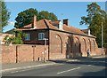 SK7081 : Former stable block, West Retford House by Alan Murray-Rust