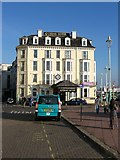 TQ3103 : Queen's Hotel, Grand Junction Road, Brighton by Simon Carey