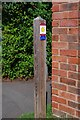 SO9062 : Waymarker post, Tagwell Road, Droitwich Spa, Worcs by P L Chadwick