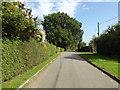 TM1160 : Church Lane, Little Stonham by Geographer