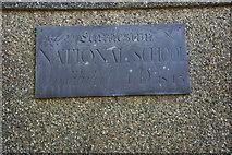SH2633 : Plac ar Ganolfan Llaniestyn - Plaque on the Llaniestyn Community Centre by Alan Fryer