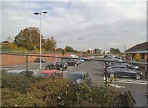 SJ9400 : Sainburys Car Park Scene by Gordon Griffiths