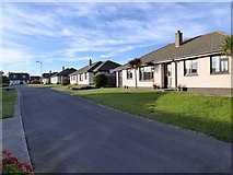 SW6719 : Bungalows in Park Enskellaw, Mullion by David Smith