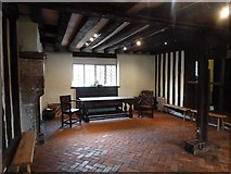 TQ4109 : Lewes - Anne of Cleves' House - Parlour by Rob Farrow
