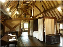 TQ4109 : Lewes - Anne of Cleves' House - Bedroom by Rob Farrow