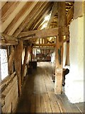 TQ4109 : Lewes - Anne of Cleves' House - Bedroom aisle by Rob Farrow