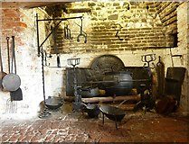 TQ4109 : Lewes - Anne of Cleves' House - Kitchen by Rob Farrow
