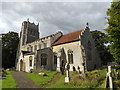 TM1160 : St.Mary the Virgin Church, Little Stonham by Adrian Cable