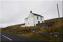 NY8233 : Peases Cottage alongside the B6277 by Ian S