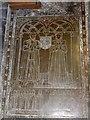SW7329 : Memorial brass, Constantine church by David Smith
