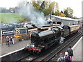 SO7192 : Footplate experience train at Bridgnorth by Chris Allen