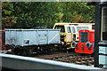 SJ9542 : Foxfield Railway Society (locomotives) by Stu JP