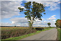 SP7906 : Lane near Little Meadle by Des Blenkinsopp