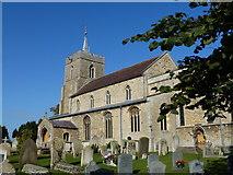 TL3677 : Somersham - Church of St John the Baptist by Richard Humphrey