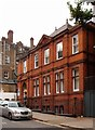 TQ2685 : Former postal sorting office, Downshire Hill, Hampstead by Julian Osley