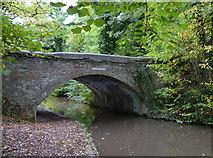 SK1705 : Hopwas Wood Bridge on the Birmingham and Fazeley Canal by Mat Fascione