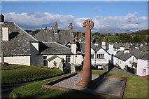 SD3598 : Celtic cross, Hawkshead by Philip Halling