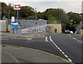 SW7734 : Entrance to Penryn railway station by Jaggery