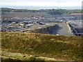 NZ2377 : Shotton Surface Mine by Oliver Dixon