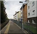 SW7734 : Platform 1,  Penryn railway station by Jaggery