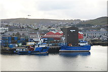 HU4741 : Vessels at Hay's Quay, Lerwick by Mike Pennington