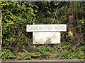 TM0113 : Colchester Road sign by Adrian Cable