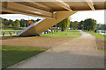 TQ0966 : Footing, Walton Bridge by Alan Hunt