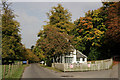 TQ3556 : Station Lodge, Woldingham by Peter Trimming