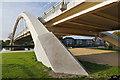 TQ0966 : Walton Bridge by Alan Hunt