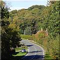 SO7796 : B4176 to Telford, Shropshire by Roger  Kidd
