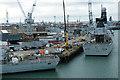 SU6301 : Portsmouth Naval Base by Anne Burgess