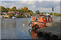 TQ0966 : Lifeboat on the Thames by Alan Hunt