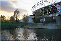 TQ3783 : The southern end of the Olympic Stadium by Bill Boaden