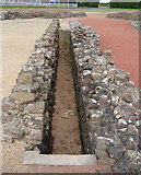 SJ5608 : Latrine Block at Viroconium Cornoviorum (Wroxeter Roman City) by Jeff Buck