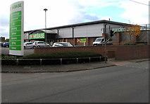 SJ5541 : Homebase, Whitchurch, Shropshire by Jaggery