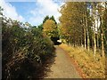 SK1884 : Minor road near Aston soon to become a track and bridleway by Steve  Fareham