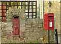 SP4818 : Postboxes at Enslow by Alan Murray-Rust