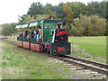 NZ2888 : Narrow gauge railway at Woodhorn by Oliver Dixon